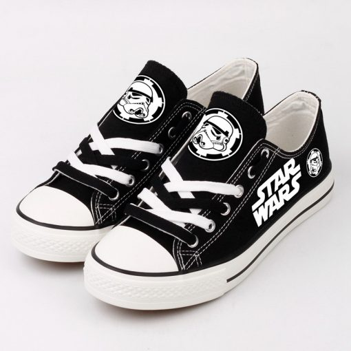 Star Wars Stormtrooper Unisex Casual Canvas Shoes Sport