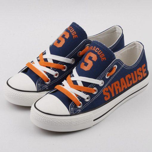 Syracuse Orange Limited Low Top Canvas Sneakers