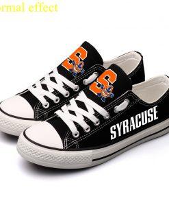 Syracuse Orange Limited Luminous Low Top Canvas Shoes Sport