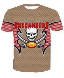 Tampa Bay Buccaneers Football Fans Casual T-shirt