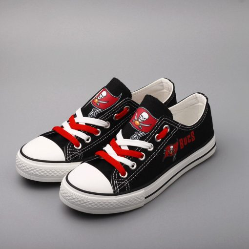 Tampa Bay Buccaneers Limited Low Top Canvas Sneakers