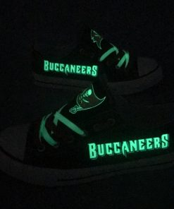 Tampa Bay Buccaneers Limited Luminous Low Top Canvas Sneakers