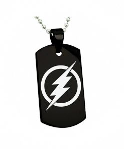 Tampa Bay Lightning Engraving Tungsten Necklace