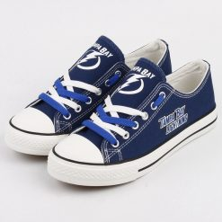 Tampa Bay Lightning Limited Low Top Canvas Shoes Sport