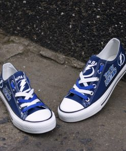 Tampa Bay Lightning Limited Fans Low Top Canvas Sneakers