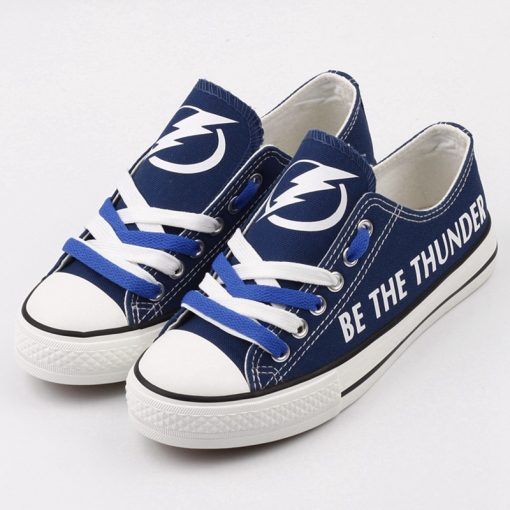 Tampa Bay Lightning Limited Low Top Canvas Sneakers