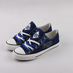 Tampa Bay Rays Limited Low Top Canvas Sneakers