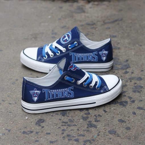 Tennessee Titans Low Top Canvas Shoes Sport