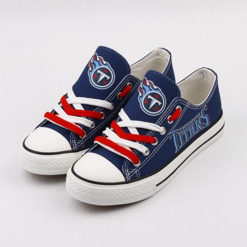 Tennessee Titans Limited Low Top Canvas Shoe Sport