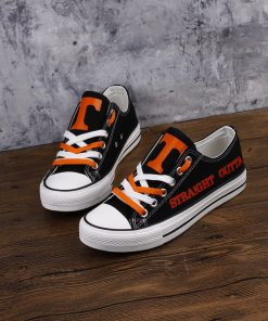 Tennessee Volunteers Limited Fans Low Top Canvas Shoes Sport
