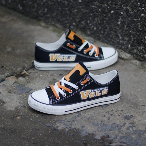 Tennessee Volunteers Limited Fans Low Top Canvas Sneakers