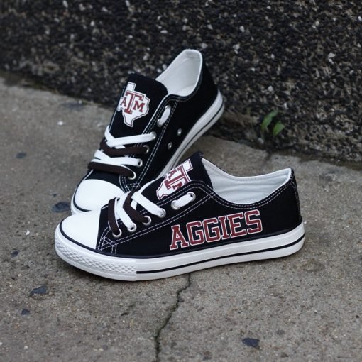 Texas A&M Aggies Limited Low Top Canvas Sneakers