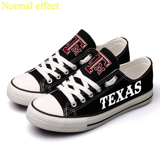 Texas A&M Aggies Limited Luminous Low Top Canvas Sneakers