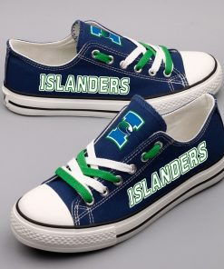 Texas A&M-CC Islanders Limited Low Top Canvas Sneakers