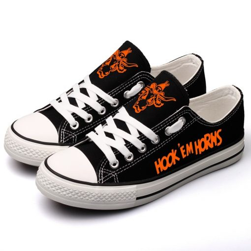 Texas Longhorns Limited Low Top Canvas Shoes Sport