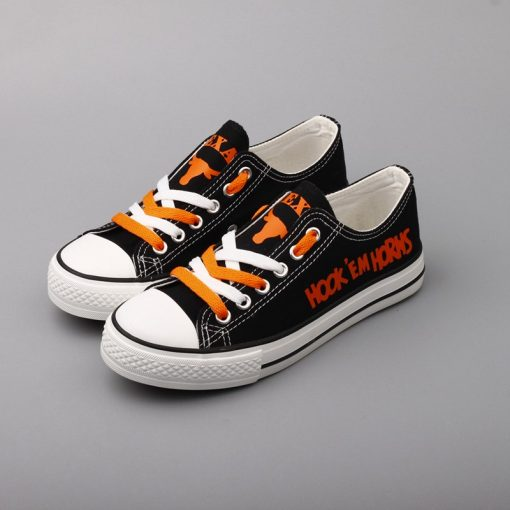 Texas Longhorns Limited Low Top Canvas Sneakers