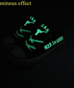 Texas Longhorns Limited Luminous Low Top Canvas Sneakers
