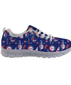 Texas Rangers Custom 3D Running Shoes