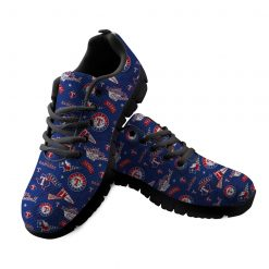 Texas Rangers Custom 3D Running Shoes