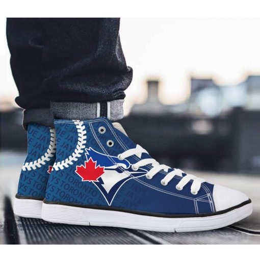 Toronto Blue Jays Lace-Up Shoes Sport