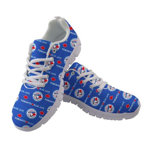 Toronto Blue Jays Flats Adults Casual Shoes Sports