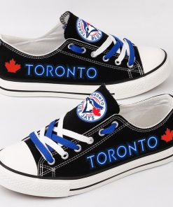 Toronto Blue Jays Limited Low Top Canvas Sneakers
