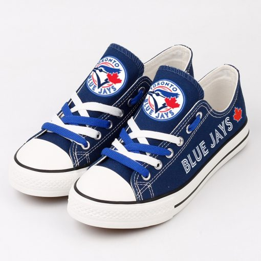 Toronto Blue Jays Limited Low Top Canvas Shoes Sport