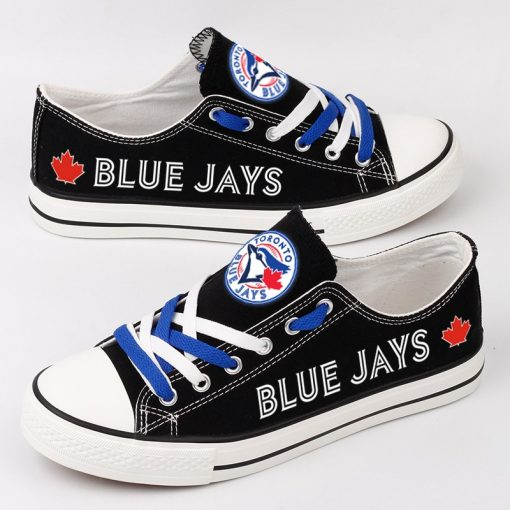 Toronto Blue Jays Low Top Canvas Sneakers