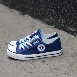 Blue Jays Limited Low Top Canvas Sneakers