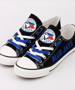 Blue Jays Limited Low Top Canvas Shoes Sport