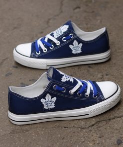 Toronto Maple Leafs Limited Low Top Canvas Sneakers