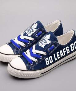 Toronto Maple Leafs Limited Low Top Canvas Shoes Sport