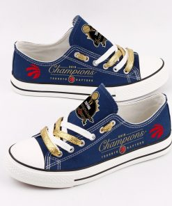 Toronto Raptors Limited Low Top Canvas Sneakers