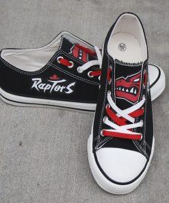 Raptors Limited Fans Low Top Canvas Shoes Sport