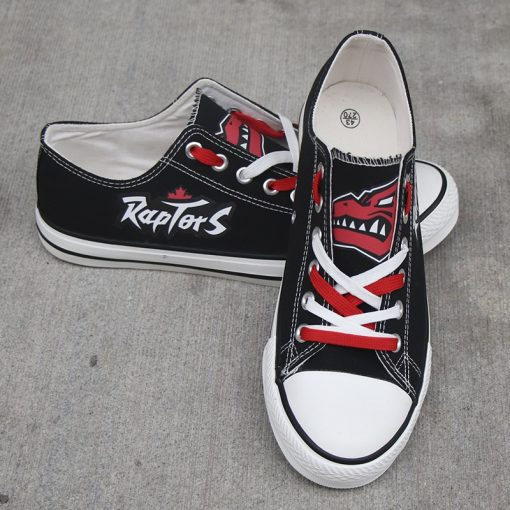 Raptors Limited Fans Low Top Canvas Shoes Sport