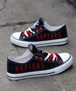 Toronto Raptors Fans Low Top Canvas Sneakers