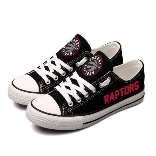 Toronto Raptors Fans Low Top Canvas Shoes Sport