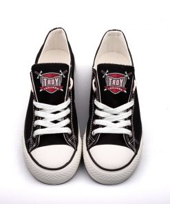 Troy Trojans Limited Low Top Canvas Sneakers