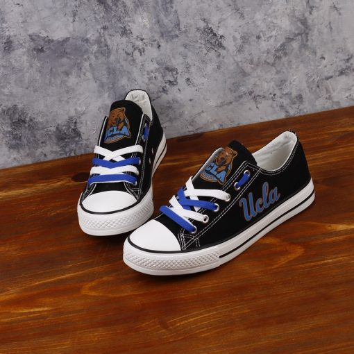 UCLA Bruins Limited Low Top Canvas Shoes Sport
