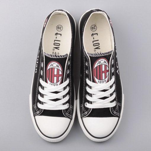 AC Milan Team Canvas Shoes Sport