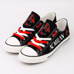 AC Milan Team Canvas Sneakers