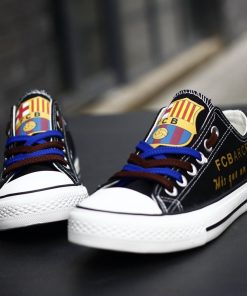 Barcelona Team Canvas Shoes Sport