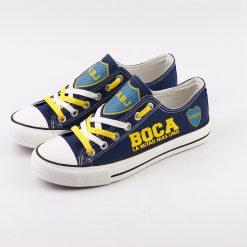 Boca Juniors Team Canvas Shoes Sport