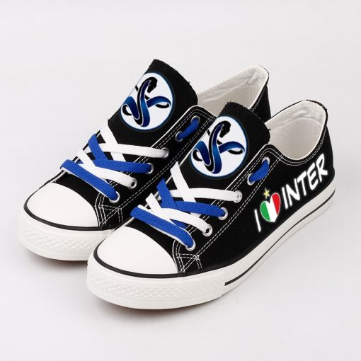 Internazionale Milano Team Canvas Running Shoes