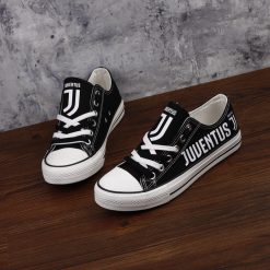 Juventus Team Low Top Canvas Shoes Sport