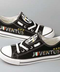 Juventus Team Low Top Canvas Shoes Men Women