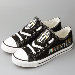 Juventus Team Low Top Canvas Shoes Men Women