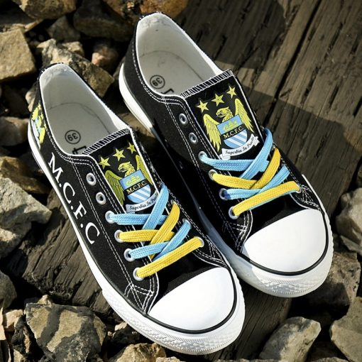 Manchester City Team Canvas Shoes Sport