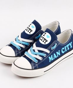 Manchester City Team Canvas Sneakers