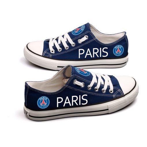 Paris Saint-Germain Team Canvas Sneakers